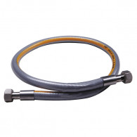 """Flexible inox haute pression 2m NF - écrou G 1/2"""" - max 2 bar"""