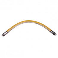 """Flexible inox haute pression 1m NF - écrou G 3/4"""" - max 2 bar"""