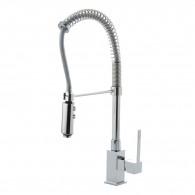 Mitigeur évier de cuisine avec douchette métallique pour professionnel - Ramon Soler 4966Y