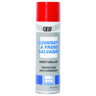 Galvanisation brillant à froid - Aérosol 500 ml - GEB