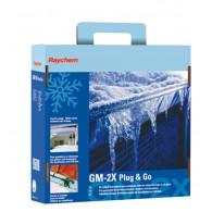 Kit GM-2X Plug&Go Hors gel chéneaux et gouttières - 20ml