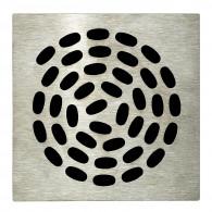 Grille carrée 130 x 130 mm Spirale pour Isotanche