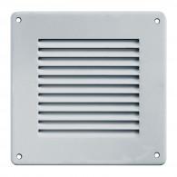 Grille ventilation métal 140x140mm - Couleur Aluminium ou inox