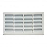 Grille ventilation métal 440x240mm - Couleur Aluminium ou inox