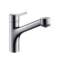 Mitigeur évier douchette extractible TALIS S - Hansgrohe 32841000
