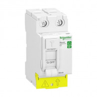 Inter différentiel Resi9 XP peignable - 2P - 63A - 30mA - Type A - Schneider Electric R9PRA263