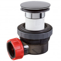Ensemble bonde et siphon lavabo NANO 6.7 Quick-Clac Ø32 mm - Wirquin Pro 30721241
