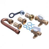Kit GAZ naturel raccordement en cuivre