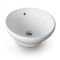 Vasque à poser céramique CUP H19CM - Ø42CM - Ondyna WCU4209