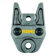 Pince à sertir (Mâchoire) profil V pour sertisseuse REMS (Sauf Mini-Press et Eco-Press)