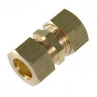 Manchon laiton bicône égal pour tube cuivre Ø10 au Ø22 DISPONIBLE en 6 MODÈLES