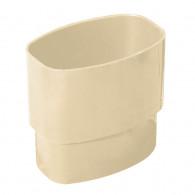 Manchon PVC MF pour tube de descente oval 97x57