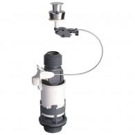 Mécanisme de chasse MD2 PMR à câble et poussoir simple débit - Wirquin Pro 10717744