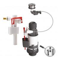 Mécanisme double chasse à câble MW² et robinet flotteur F89 - Wirquin Pro 10718521