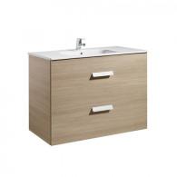 Meuble Unik DEBBA 1000 2 tiroirs et lavabo