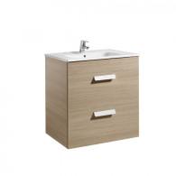 Meuble Unik DEBBA 700 2 tiroirs et lavabo