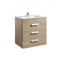 Meuble Unik DEBBA 700 3 tiroirs et lavabo