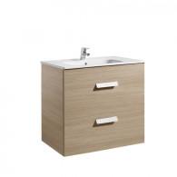 Meuble Unik DEBBA 800 2 tiroirs et lavabo