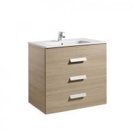 Meuble Unik DEBBA 800 3 tiroirs et lavabo