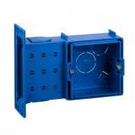 Boîte de chambranle à sceller Modulo - 1 poste - profondeur 40 mm - ALB71304