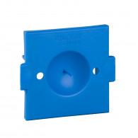 Modulo, couvercle antiplâtre pour boîte carrée - 20 pièces - ALB71393