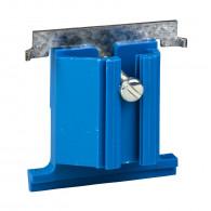 Modulo, patte pour fixation d'une boîte carrée sur huisserie métallique - ALB71509