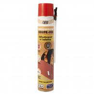 Mousse polyuréthane Coupe-Feu 700ML + Gants - GEBSOMOUSSE