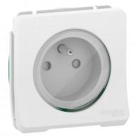 Mureva Styl - Prise de courant 2P+T - composable - IP55 - IK08 - blanc