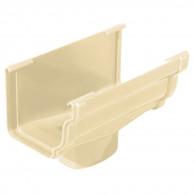 Naissance centrale gouttière PVC carrée BEST