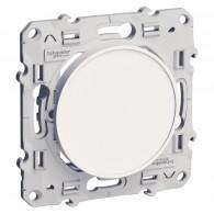 Obturateur ODACE blanc Schneider Electric - S520666