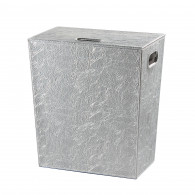 Panier à linge chrome Perle 60cm