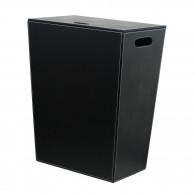 Panier à linge noir Ecopelle 60cm