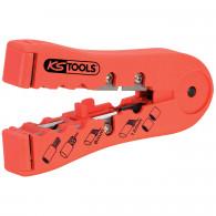 Pince à dénuder pour câbles informatiques, 112 mm KS Tools 115.1241