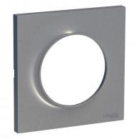 Plaque de finition ODACE Styl 1 poste - Aluminium - S520702E