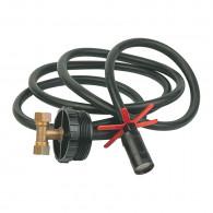 Plongeur en T pour cuves fioul en batterie - longueur 2m - Watts 22L0116104