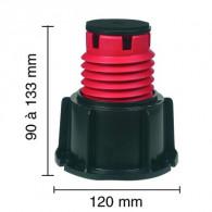 Plot Stabilibac - pied pour bac à douche - Lazer 150621
