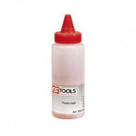 Biberon de poudre rouge pour traçeur, 150 g KS Tools 300.0083