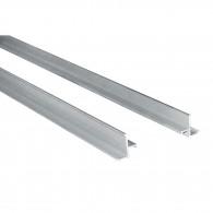 Profile cadre 2,5m pour caniveau/grille/tampon - Hauteur 20mm - Gris