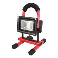 Projecteur à LEDs 10W sur batterie rechargeable KS Tools 150.4383