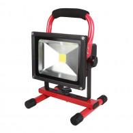 Projecteur à LEDs 20W sur batterie rechargeable KS Tools 150.4384