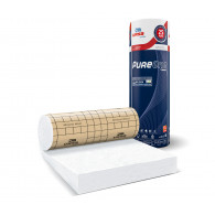 Rouleau de laine de verre PURE 38RP revêtu kraft 3m²24 - 300mm - R 8.00