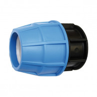 Raccord plastique tube PE - Bouchon