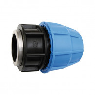 Raccord plastique tube PE - Droit Femelle