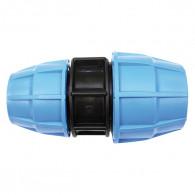 Raccord plastique tube PE - Manchon de jonction réduit