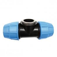Raccord plastique tube PE - Raccord en Té taraudé femelle réduit