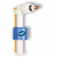 "Robinet flotteur NF uni raccordement 3/8"" (12/17) REGIPLAST"