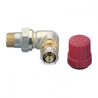 Robinet thermostatique radiateur corps angle à droite réglable RA-N