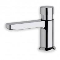 Robinet temporisé eau froide lave-mains déco QUIK Chromé - Cristina Ondyna Q523051