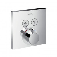 Set de finition mitigeur thermostatique ShowerSelect 2 sorties