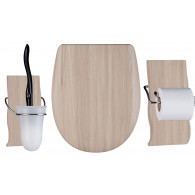 Set OLFA accessoires WC Maldivia mat